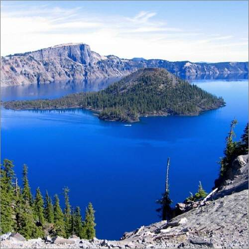 Klamath Crater Lake View